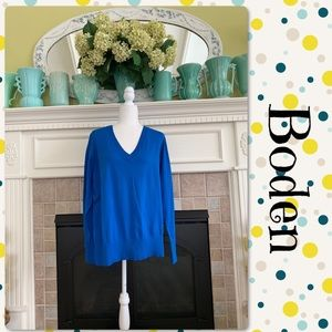 NWT Boden V-neck sweater, size XL